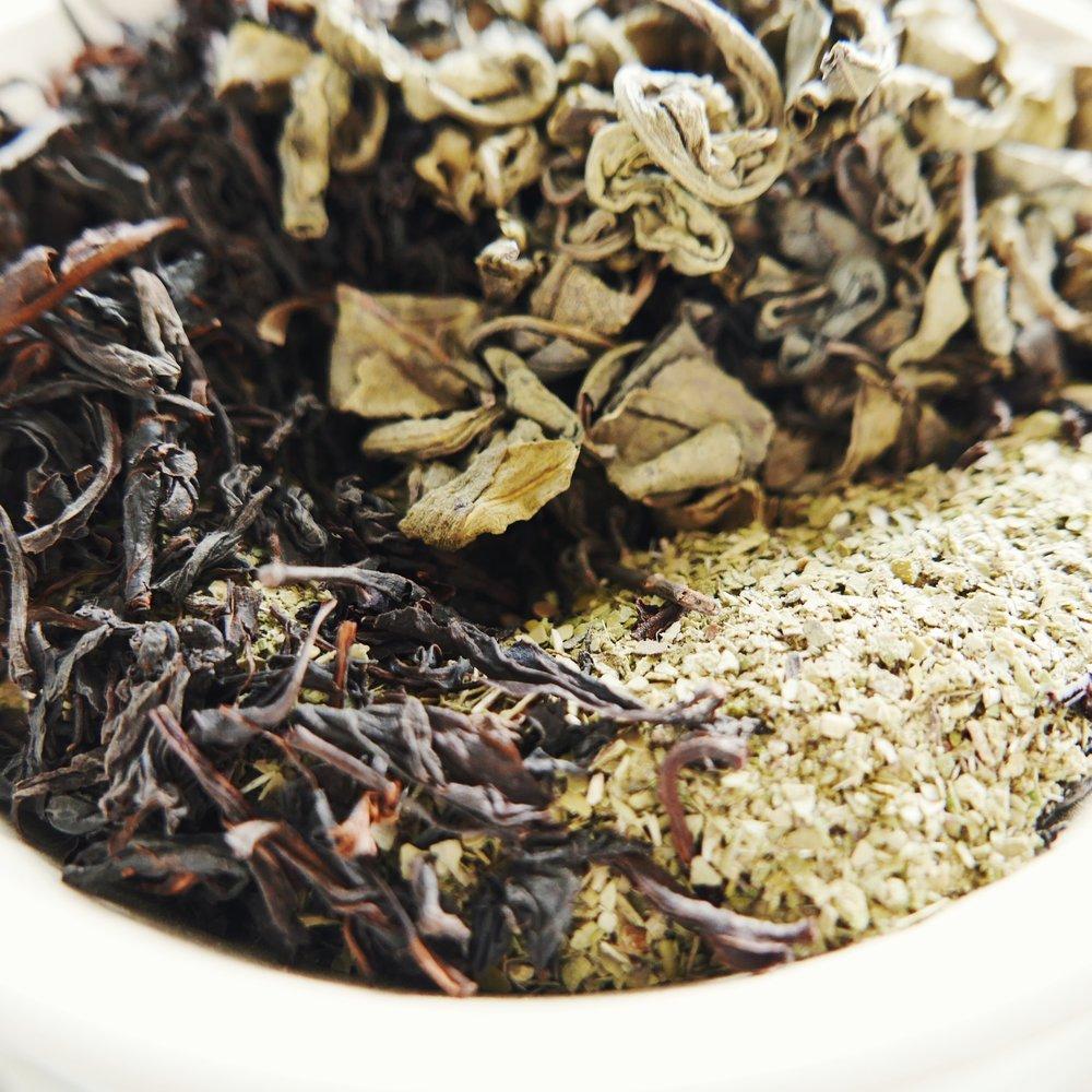 té verde orgánico // Té negro // yerba mate ORGÁNICa -