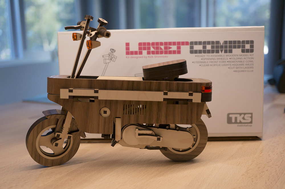 Laser cut Lasercompo