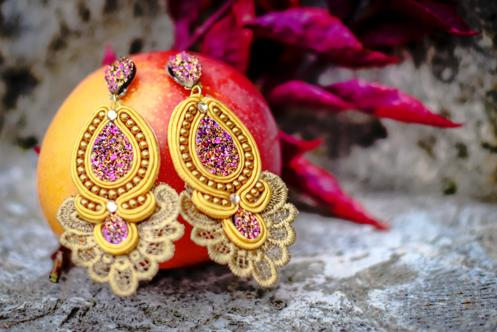 Earrings- Soutache Collection