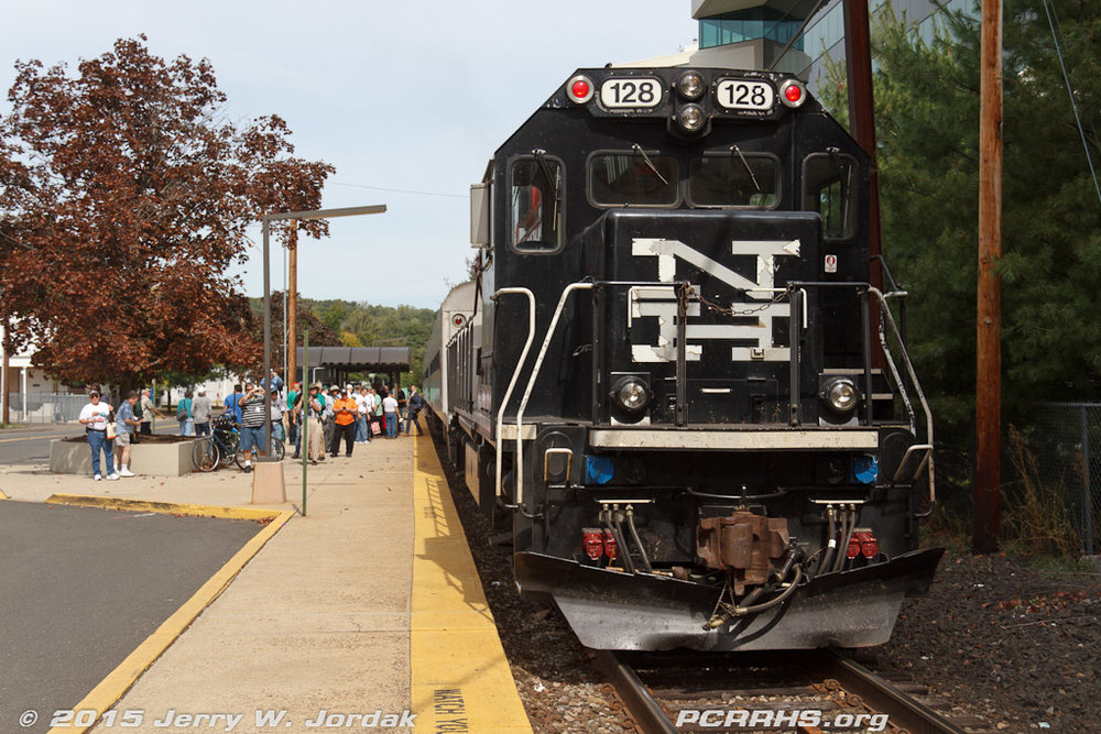 Our Metro-North train that took us to the Danbury Railway Museum