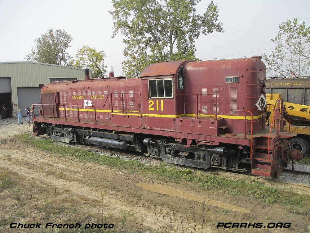 Lehigh Valley RS3m 211, a former PRR/PC unit