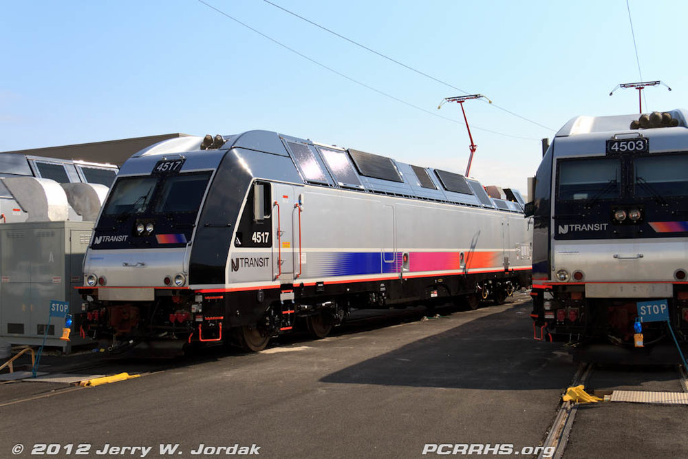 New ALP-45DP dual-mode locomotives being readied for service