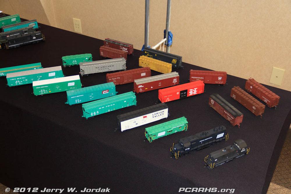 Craig Zeni's HO scale models