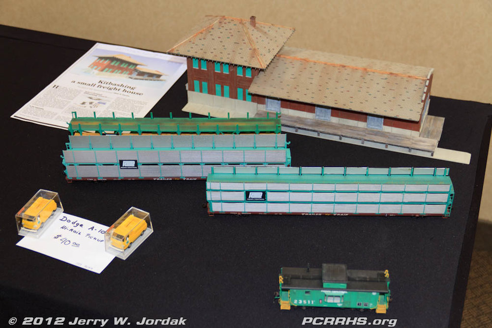 Blair Davies' HO scale models