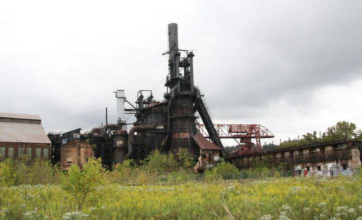 On Friday morning, the PCRRHS toured the Carrie Furnaces in Rankin, PA