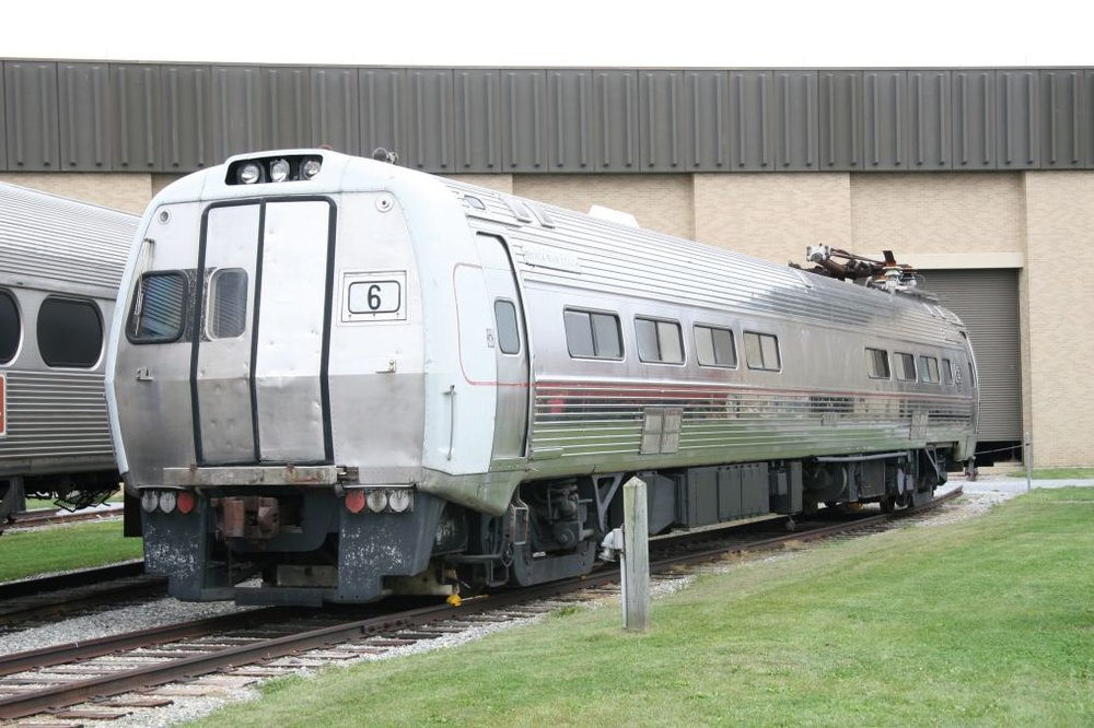 Original Penn Central/Amtrak Metroliner car 860