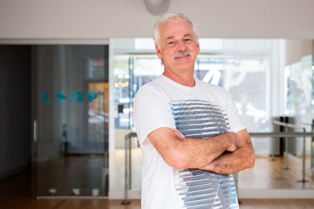 """Len F - """"I tried Pilates after I hurt my knee and found that it helped above and beyond my physical therapy exercises. And I was surprised at how good a workout it is! At 62, I can't play basketball or tennis anymore - it's not worth the pain the next day. Pilates is easier on my joints.It was helpful to start with private sessions - I was able to work with my instructor to learn correct technique."""""""
