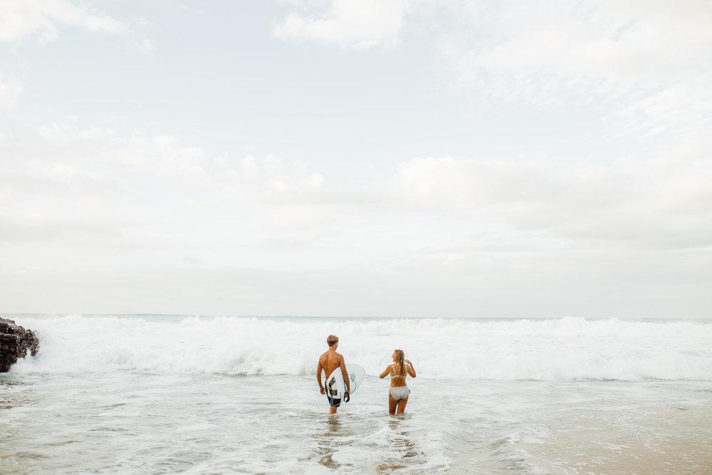 Kauai beach couples session
