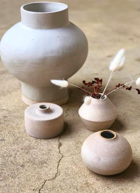 Image c/o Vestige; Stoneware Vases