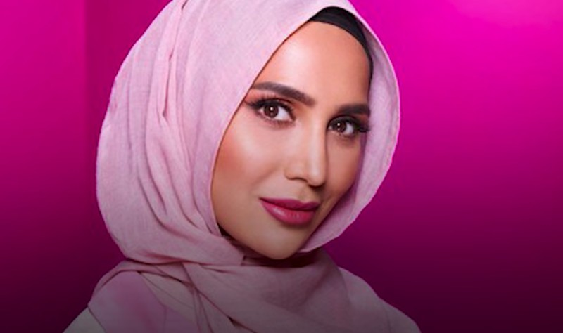 Blogger and model Amena Khan, featured in the new L'Oreal Paris hair campaign. YouTube/L'Oreal UK