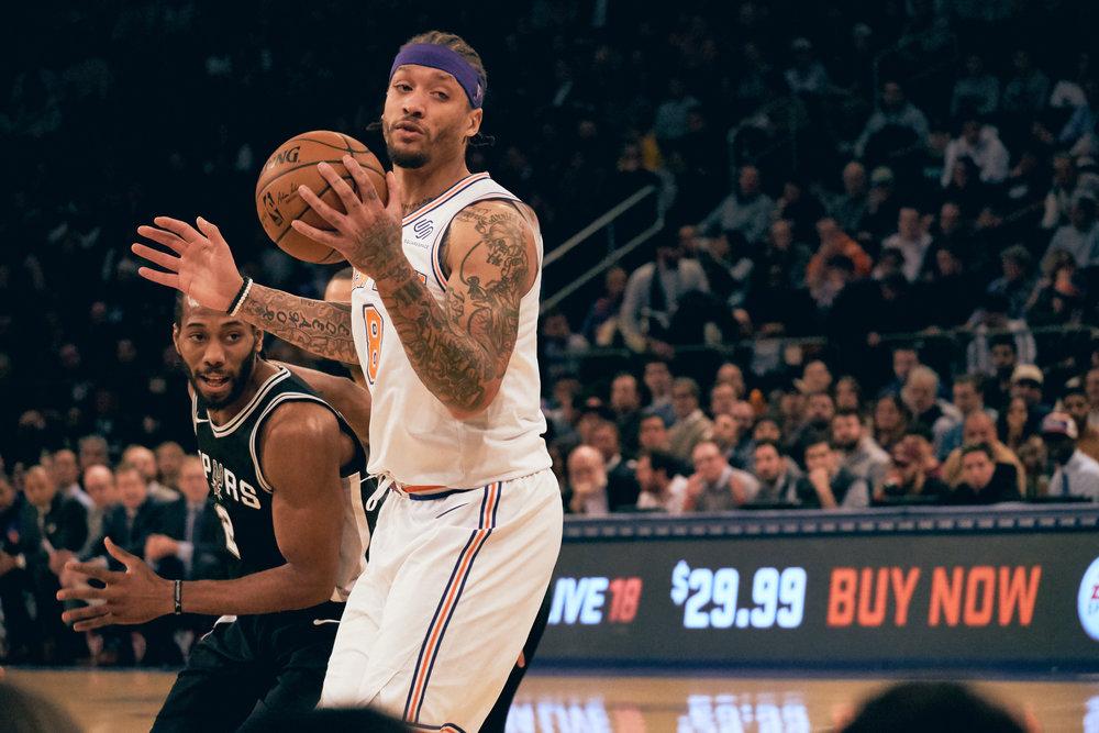 Spurs v Knicks - January 2nd, 2018