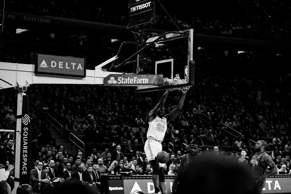 2518c11f0 Squarespace x Greg Noire – Knicks v Rockets — MSG Networks  Through ...