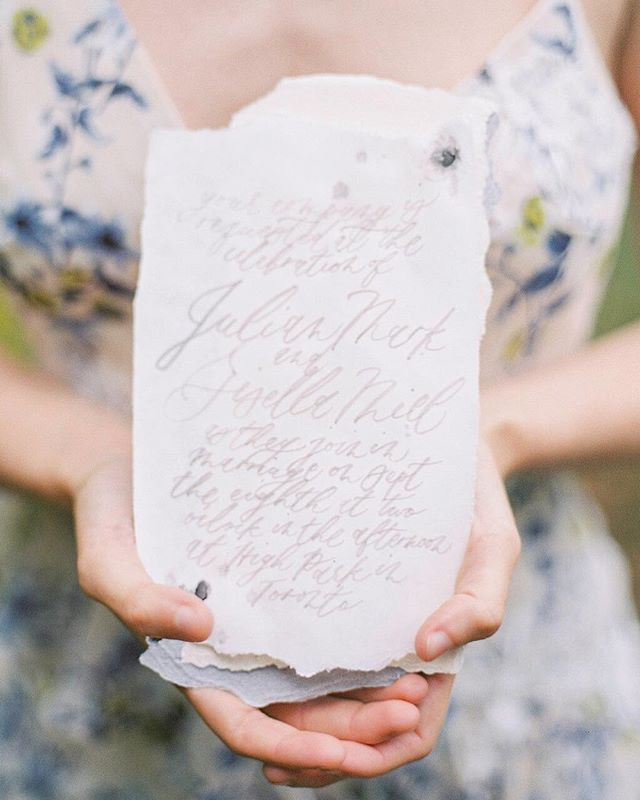 Beautiful, imperfect elements of dreamy wonder by darling Janelle 💌 I love the whimsical script and organic papers. The beautiful paint and colors✨. . . . . . . . .  #weddingphotographer #weddingphotographers #ishootfujifilm #stylemepretty #fineartphotographer #weddinginspo #engagementphotographer #soloverly #huffpostido #destinationweddingphotographer  #torontoweddingphotographer #torontoweddingphotography #chicagoweddingphotographer #chicagoweddingphotography #fineartphotography #weddinginspiration #smpweddings #ishootfilm #filmphotography #kindredpresets #chicagoengagementphotographer #engagementphotography #love #torontoengagementphotographer #canadianweddingphotographer #ontarioweddingphotographer #filmshooter #chicagoengagement #torontoengagement #weddinginvitations