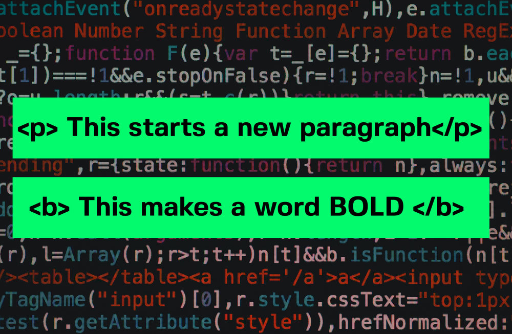 Here are some coding examples and how they fit together. -