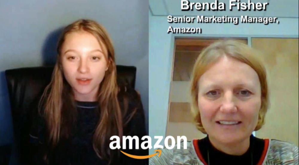 """BE INSPIRED"" by Amazon Senior Marketing Manager Brenda Fisher"