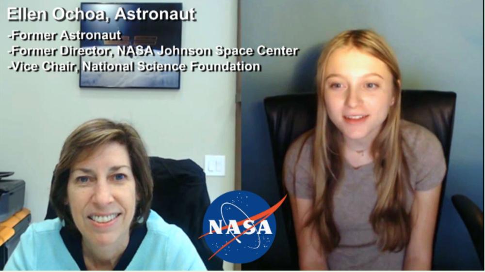 """""""BE INSPIRED"""" by former Astronaut Ellen Ochoa"""