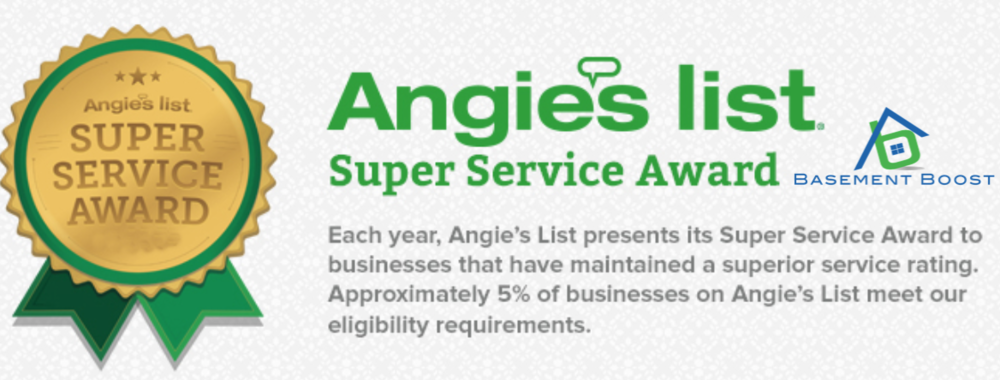 Basement Boost Super Service Award Angies List.png