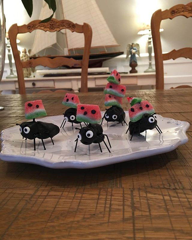 The birthday ants have arrived!!!