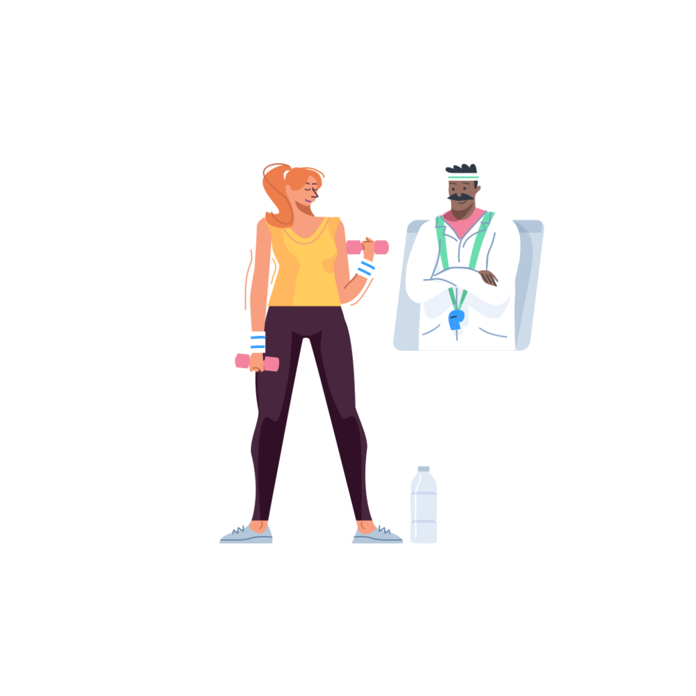 healthstar fitness illustration