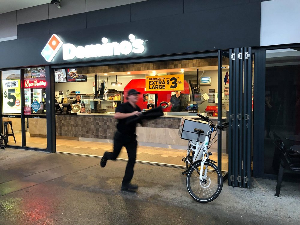 DOMINO'S BREAKS THE IMPOSSIBLE: FASTEST FAST FOOD IN THE