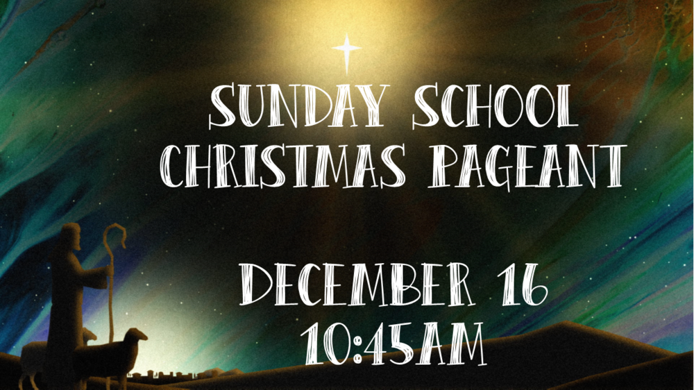 SS Christmas Pageant