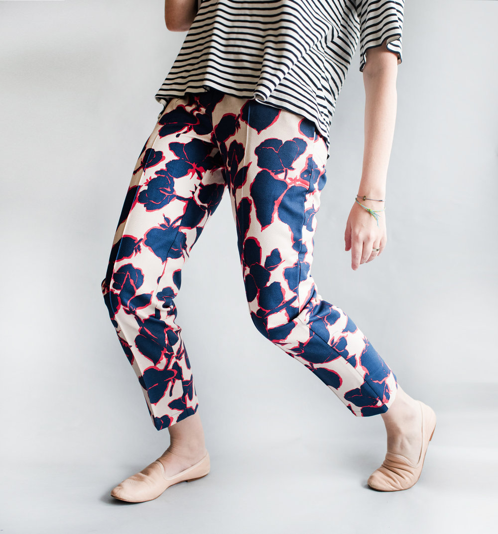 THE ROBINSON TROUSERS - 2 Patterns, many fun hem options