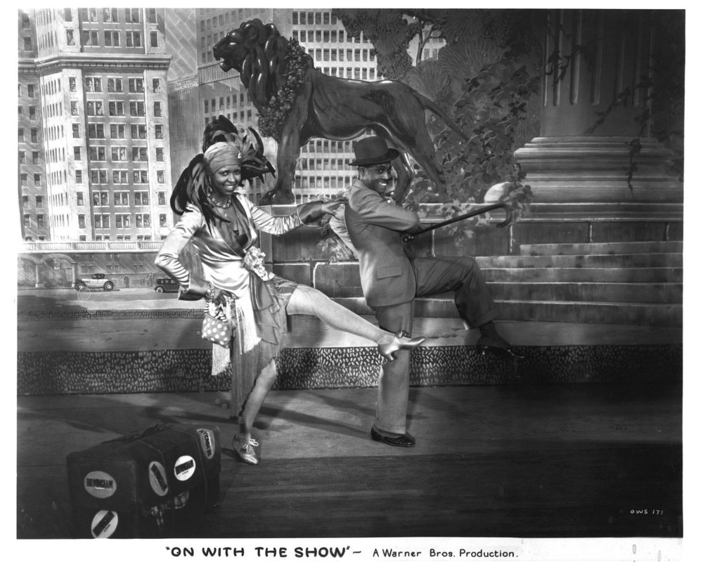 "Ethel Waters in ""On with the Show,"" 1929."