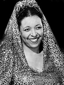 Portrait of Ethel Waters from 1943.