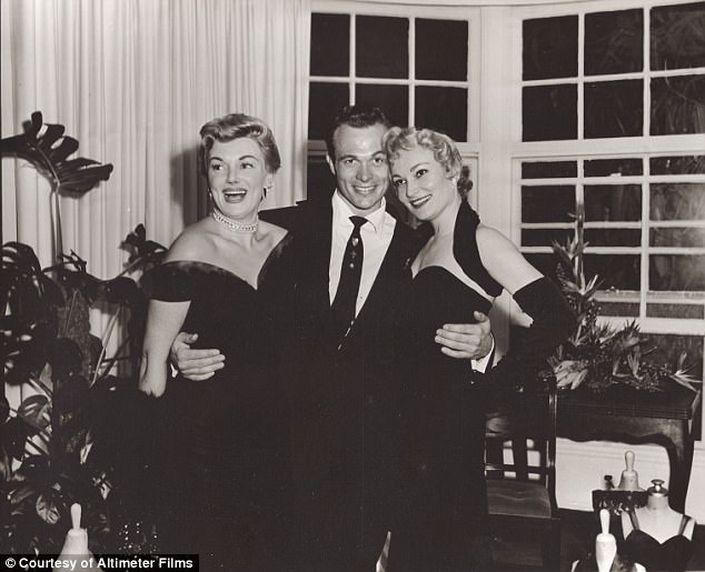 Bowers (center), at a party in Hollywood during the 40s. Image courtesy of Altimeter Films.