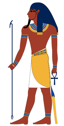 Atum, the original deity with both male and female aspects.