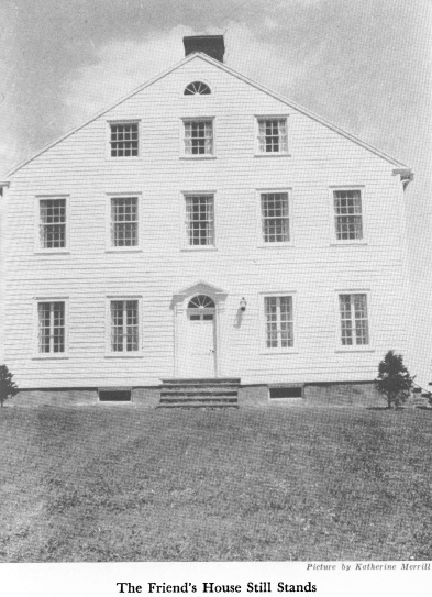 Photo of the friend's house in Jerusalem, New York. It still stands but is not available to the public.