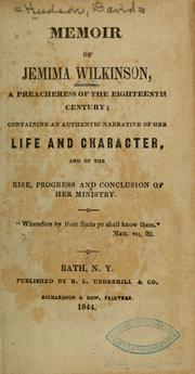 "Title Page from David Hudson's defamatory ""Memoir"" of the friend that sought to present them as deluded and a fraud."