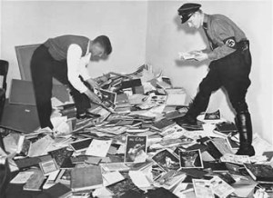 Nazis ransacking hirschfeld's personal library of materials