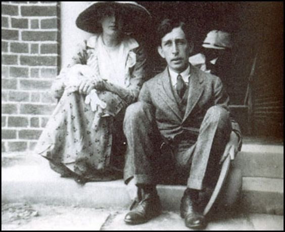 Virginia and Leonard Woolf, 1926.