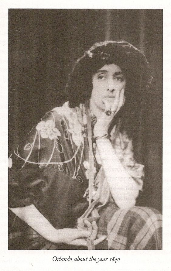 Vita Sackville-West as her alter ego the Duke Orlando, posed specifically for Virginia Woolf's 1928 novel Orlando