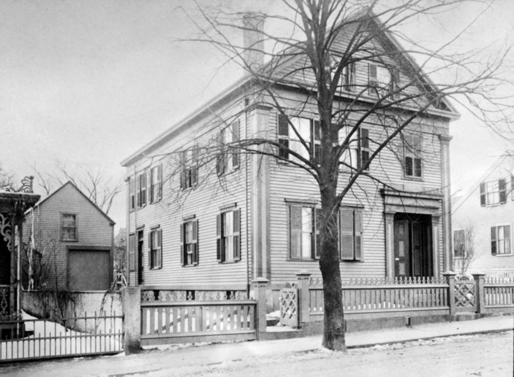 The Borden Home: 92 Second St, Fall River Massachusetts, 1892.