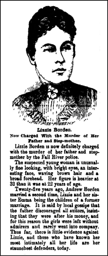 Illustration and article in  the Fitchburg Sentinel , August 13, 1892.