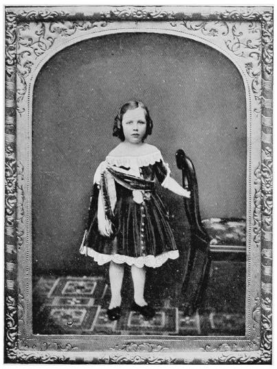 A young Oscar Wilde, 2 years old.
