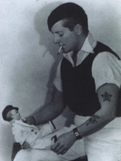 Joe Carstairs, butch icon, with her doll, Lord Tod Wadley.
