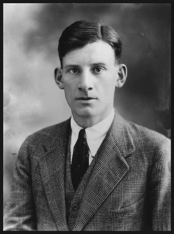 Siegfried Sassoon by Bassano Ltd, 23 August 1920.