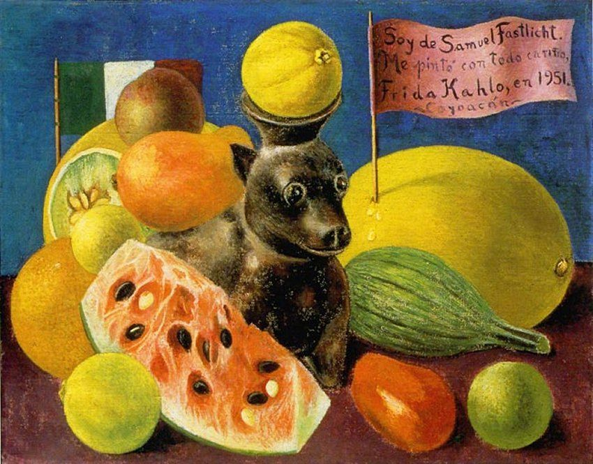 still life (dedicated to samuel fastlicht) , 1951.