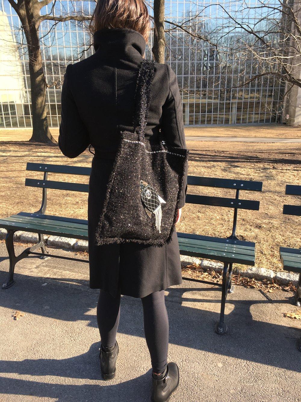 Chanel Rocket Ship Tote Bag