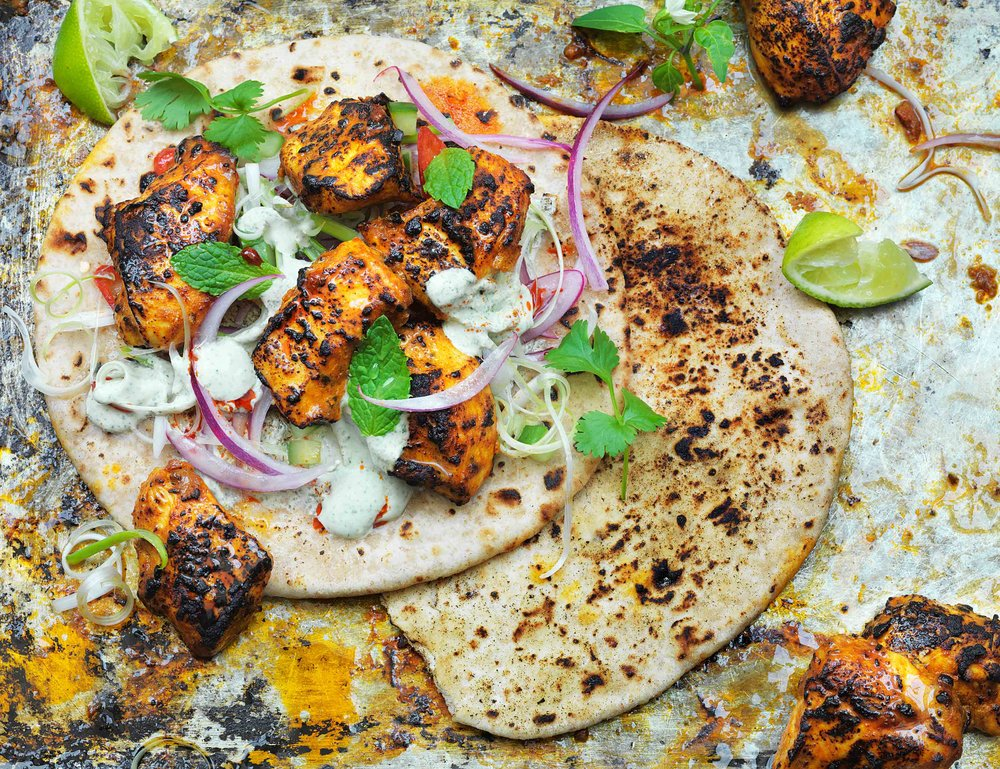 Chicken Tikka from my winning folio entry.  A huge 'Thank you' to Dave Gatenby for his brilliant food styling and superb work behind the camera. Dave has played a huge role helping me win this award.