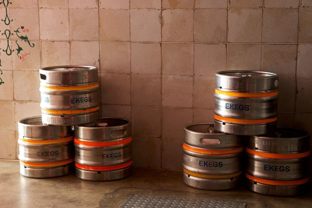 Kricket's beer kegs