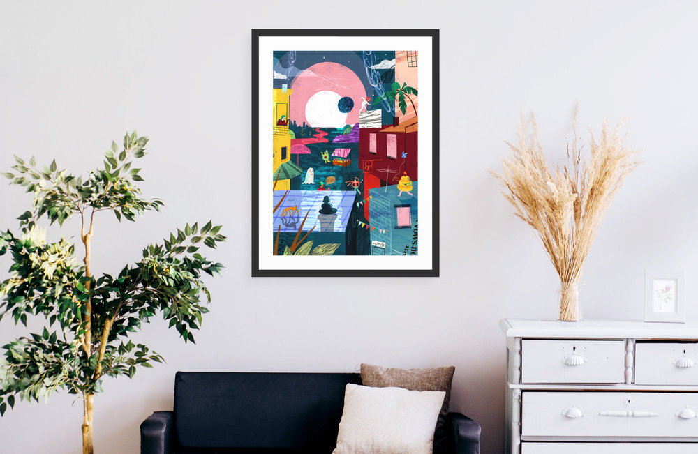 Buying custom frames for wall art | Nine By Nine