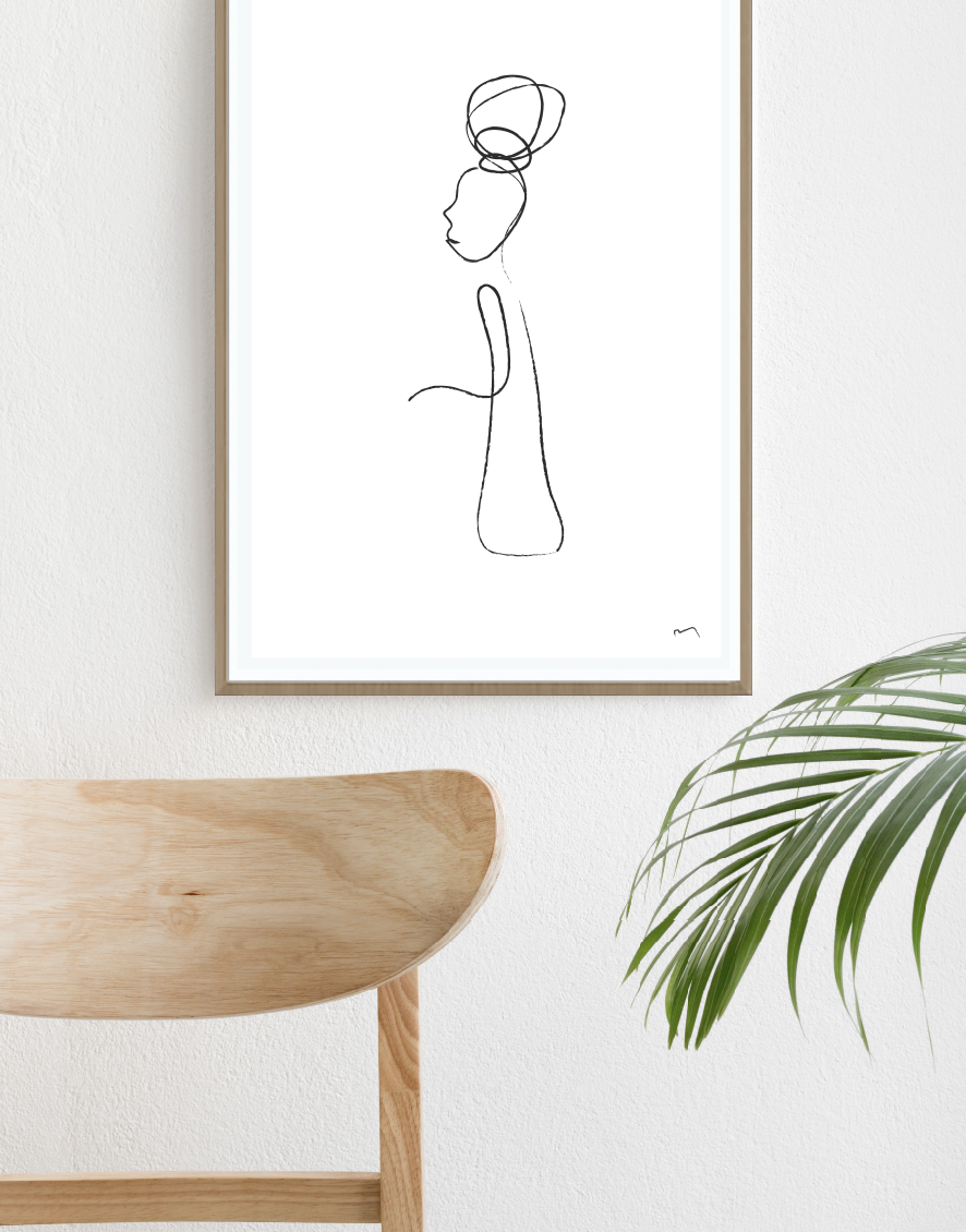 Line Work - LIMITED EDITION PRINTS