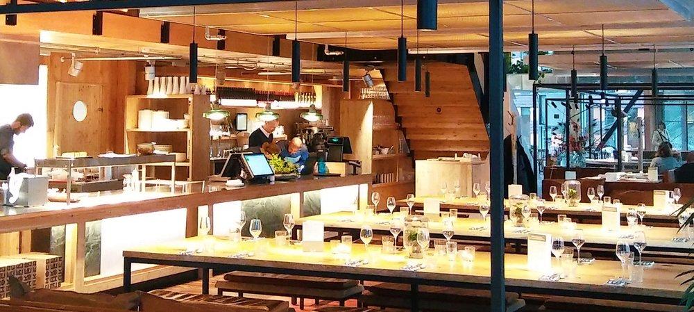 Het restaurant van Vermaat in Circl