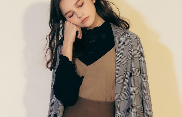 PAZZO ONI STYLE簡約格紋西裝外套