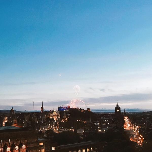 PAZZO跨年煙火分享-英國愛丁堡
