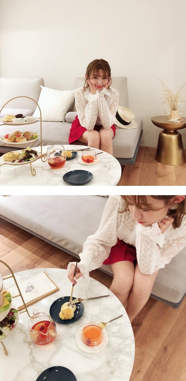 透肌感蕾絲壓褶上衣 + 設計感特殊壓褶褲裙___.jpg